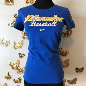 [Nike MLB] Milwaukee Brewers Slim Fit T-Shirt
